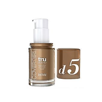 D5 liquide maquillage CoverGirl TruBlend fauve 1oz / 30ml