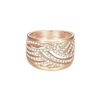 ESPRIT women's ring stainless steel Rosé JW50236 cubic zirconia ESRG02688C1