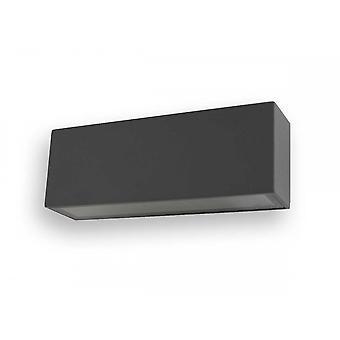 UpDown LED Wall Sconce of k L dark grey, IP54, 2 x 6 W, 3000 K 10604