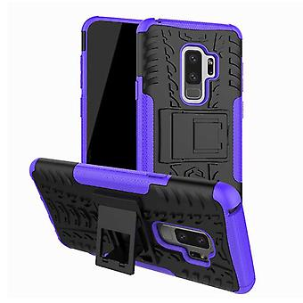 Hybrid case 2 piece SWL outdoor purple for Samsung Galaxy S9 plus G965F bag cover