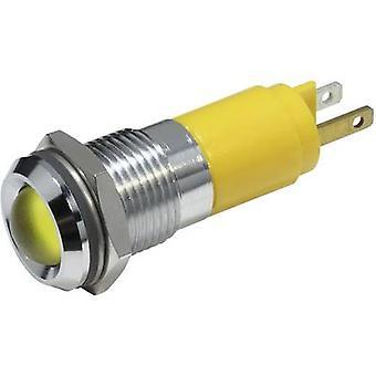 CML 19210252 LED indicator light Yellow 12 V DC 19210252