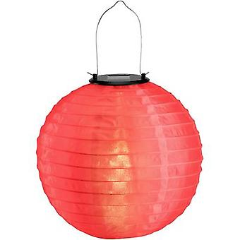 Polarlite Solar decorative light Chinese lantern LED (monochrome) 0.06 W Warm white Red