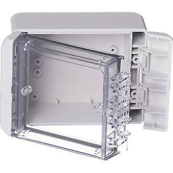 Bopla Bocube B 100806 PC-V0-G-7035 Wandgehäuse, Befestigungsbügel 80 x 113 x 60 Polycarbonat (PC) Grauweiß (RAL 7035) 1 Stk.(s)
