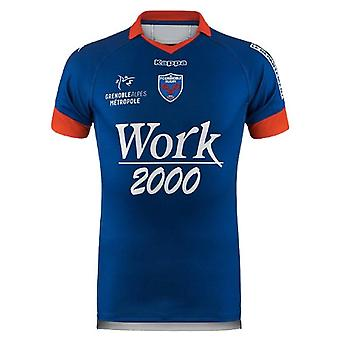 2018-2019 Grenoble Rugby Kappa Home Shirt