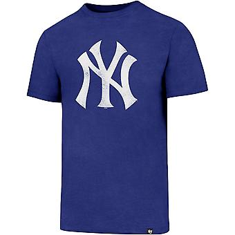 47 ogień CLUB koszula - MLB New York Yankees royal