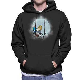 Adventure Time ET Mix Men's Hooded Sweatshirt