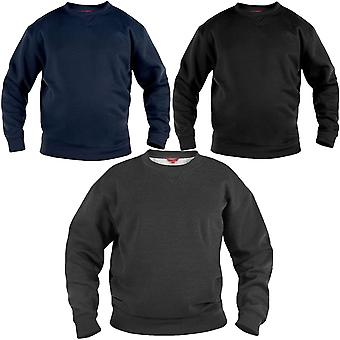 D555 Rockford duc Mens Sweat Big Tall King Size Crew Neck Pullover Sweatshirt