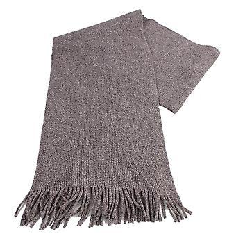 Bassin and Brown Lucas Birdseye Scarf - Brown/Beige