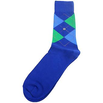 Burlington King Socks - Blue/Green