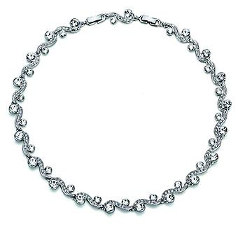 Oliver Weber Collier Precious Rhodium Crystal