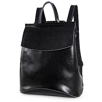 Genuine Cow leather backpack, 32x26x11 cm