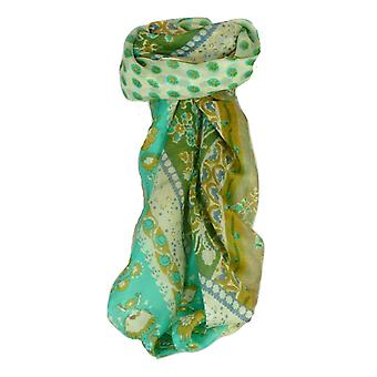 Mulberry Silk Classic Square Scarf Siana Ivory by Pashmina & Silk