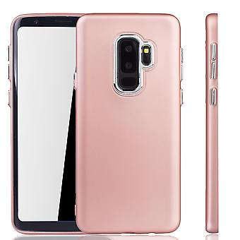 Samsung Galaxy S9 plus kirjaimien - matkapuhelin Samsung Galaxy S9 plus - kännykkäkotelo punainen