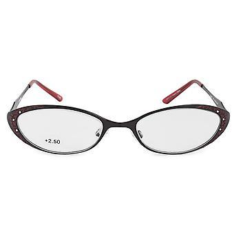 Harley Davidson Oval Reading Eyeglasses HD3011 RD 52 +2.50