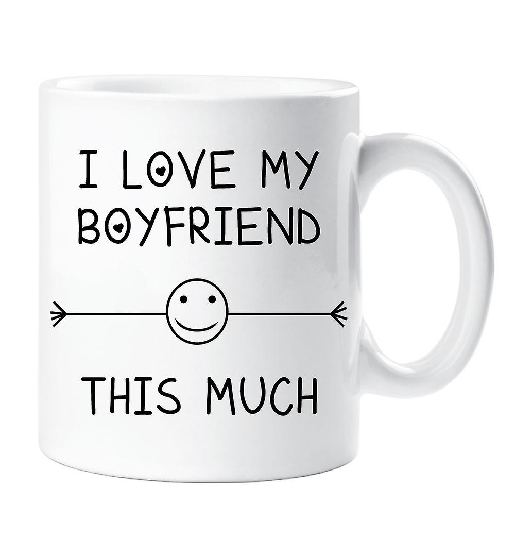 I Love My Boyfriend This Much Mug