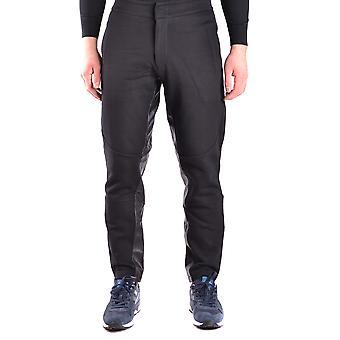 Mcq Door Alexander Mcqueen Ezbc053020 Men's Black Cotton Pants