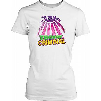 Trodde kriminelle - konspirasjon damer T skjorte