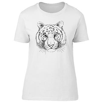 Realistic Tiger Drawing Tee Men's -Image by Shutterstock