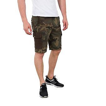 Alpha Industries heren Sweatshorts Cargo