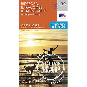 Bideford - Ilfracombe and Barnstaple (September 2015 ed) by Ordnance