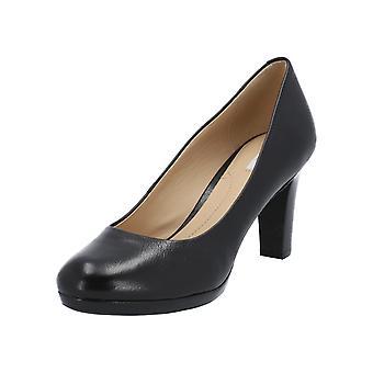 Geox D LANA C-VIT. LISCIO kvinners pumper svart nye høye hæler hæler