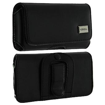 Universal Belt Case Smartphone Cover Size XXL Forcell Black