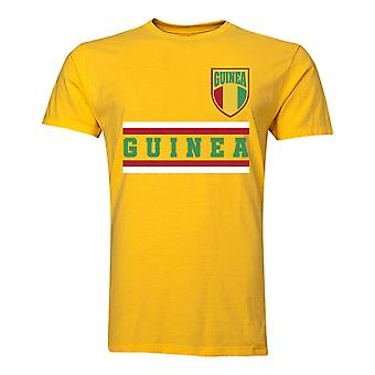 Guinea Core Football Country T-Shirt (Yellow)