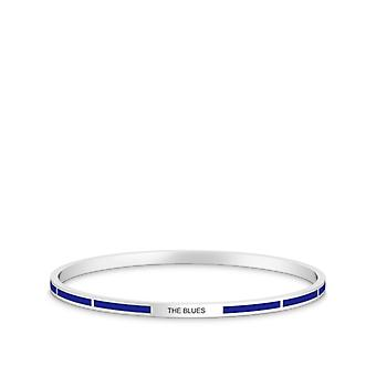 Pulsera Chelsea FC en diseño de plata de ley por BIXLER