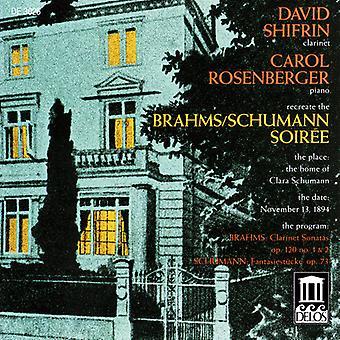 Brahms/Schumann - Brahms/Schumann Soir E [CD] USA import