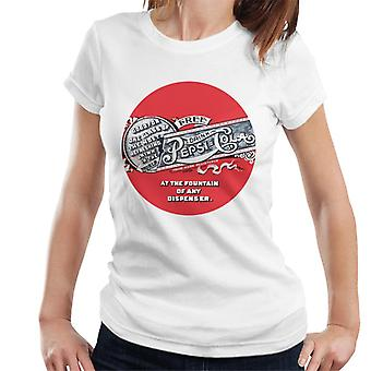 Pepsi Cola 1905 Retro Drink Token Damen T-Shirt
