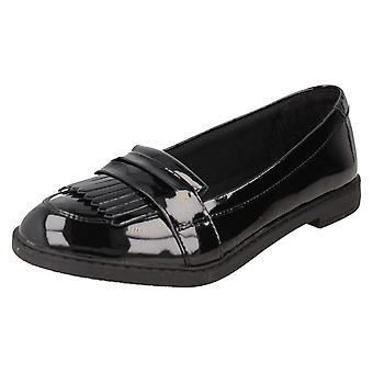 Girls Clarks School Zapatos Scala Bright