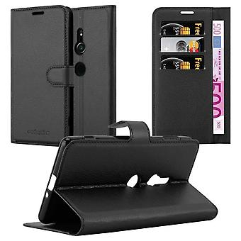 Case for Sony Xperia XZ2 Foldable Phone Case - Cover - with Stand Function and Card Tray