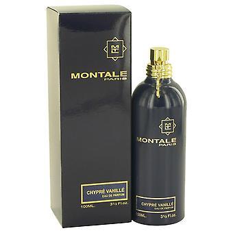Montale chypre vanille eau de parfum spray af montale 518259 100 ml