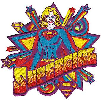 Patch - DC Comic - superman - supergirl Pop Art Iron On Licensed Gifts Toys p-dc-0021