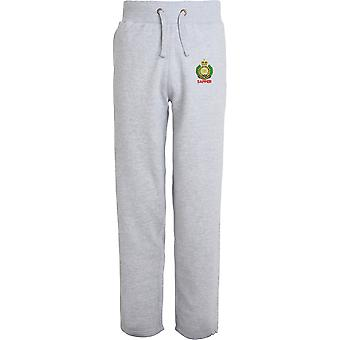 Royal Engineers sapper-licenseret British Army broderet åbne hem sweatpants/jogging bunde