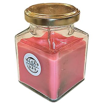 Young Enterprise Charitable Organisation Wicks 'n' Wax Candle Rose Red