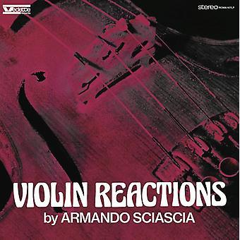 Armando Sciascia - Violin Reactions / O.S.T. [Vinyl] USA import