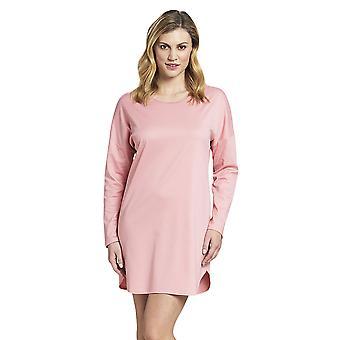 Rösch 1193656-12609 女性's スマートカジュアルティーローズピンクコットンナイトドレス