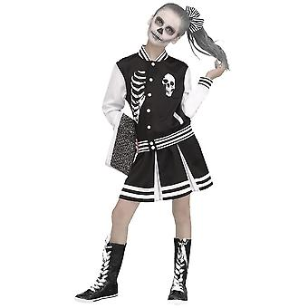 Meisjes Scareleader kostuum