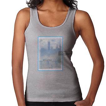 A.P.O.H Oscar Claude Monet Painting Quote Women's Vest