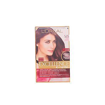 L ' Oreal maquillaje Excellence Creme Tinte #5,15-castaño Helado Unisex