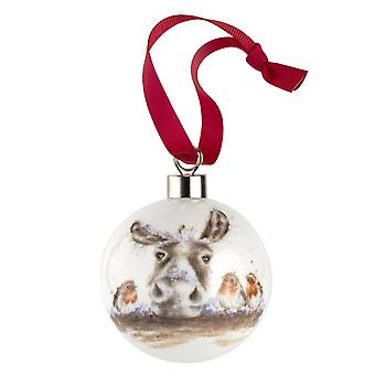 Wrendale Designs The Christmas Donkey Bauble