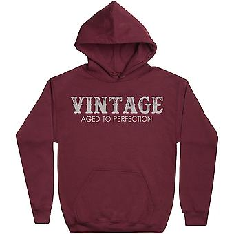 Vintage - Aged To Perfection - Mens Hoodie