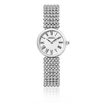 Michel Herbelin 17483-B08 Ladies Perle Bracelet Wristwatch