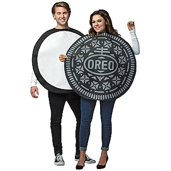 Oreo Cookie Biscuit Food Snack Treat Funny Adult Couples Womens Mens Costume OS
