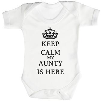 Rolig tante er her Baby Body / Babygrow