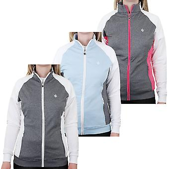 Island Green Ladies Contrast Raglan Zip Golf Jacket