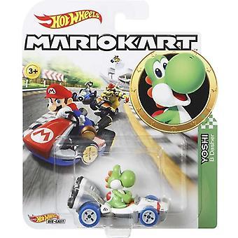 Hot Wheels Mario Kart-Yoshi B Dasher