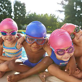 Zoggs Swimming Goggles Phantom Kids mask in Blue/Red/Clear - 0-6yrs