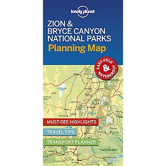 Lonely Planet Zion  Bryce Canyon National Parks Planning Ma